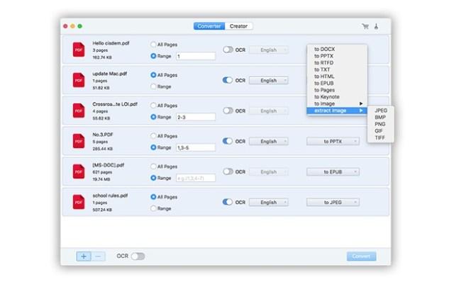 Cisdem PDF Converter OCR mac