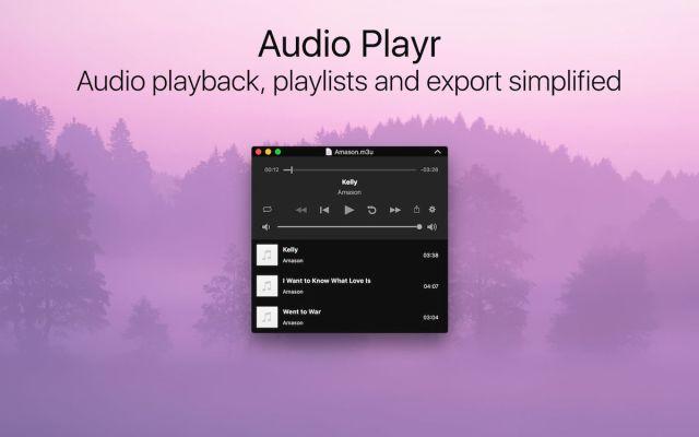 Audio Playr mac