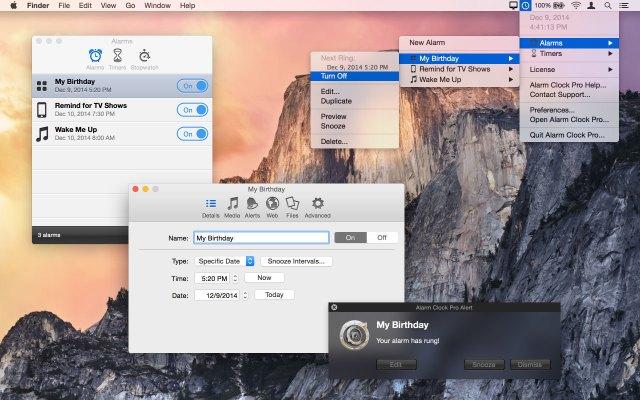 alarm-clock-pro mac