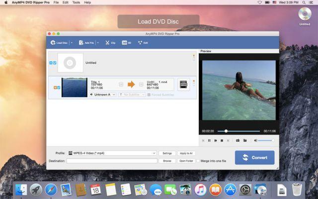 AnyMP4 DVD Ripper mac