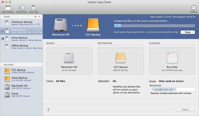 Carbon Copy Cloner mac