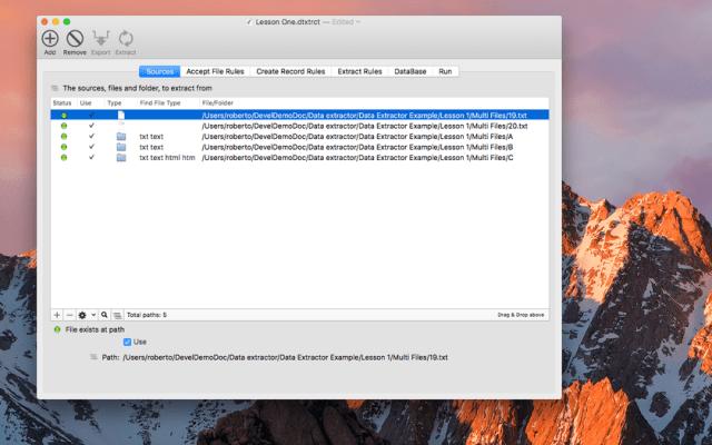 Data Extractor mac