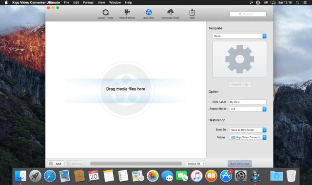 Kigo Video Converter mac