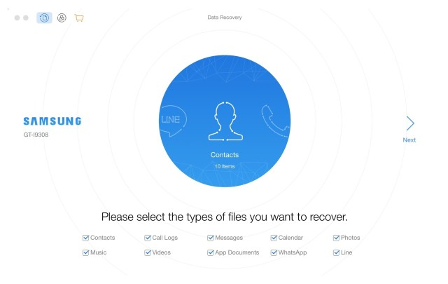 PhoneRescue for Android mac