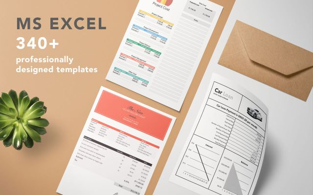 Templates for MS Excel mac