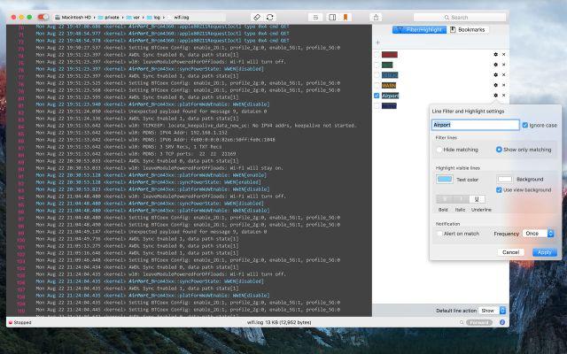 LogTail mac