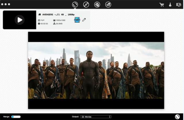 iFunia Video Converter Mac