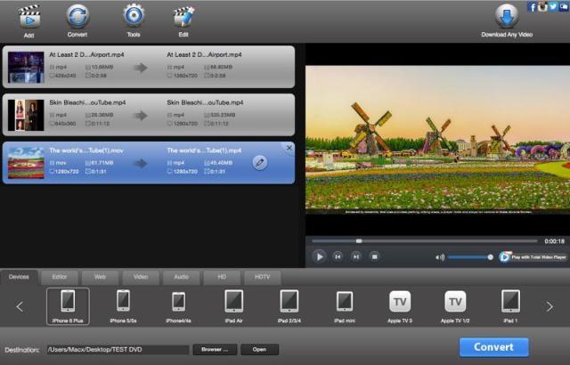 Total Video Converter Mac