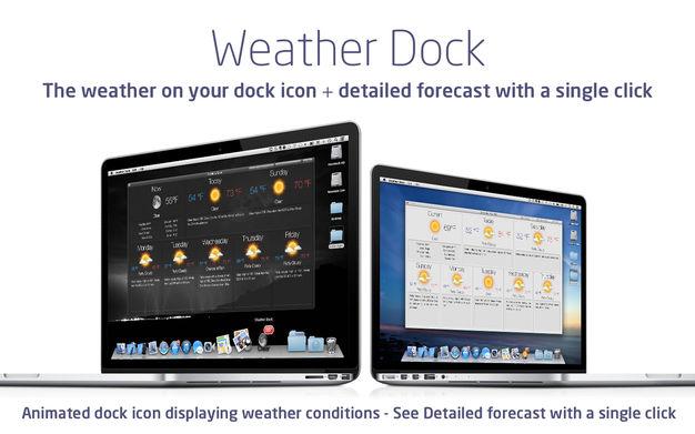 Weather Dock Mac