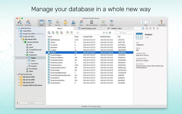 Navicat for SQL Mac