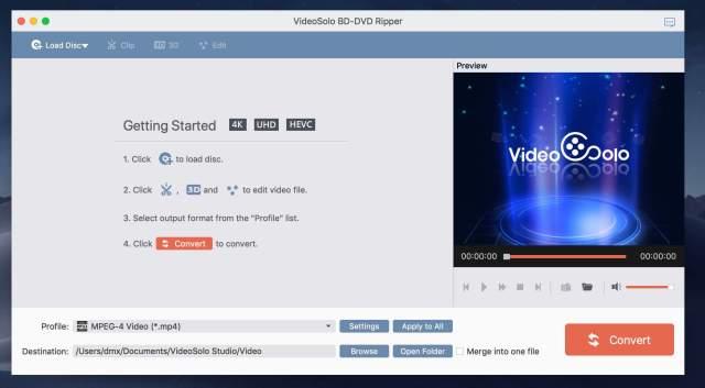VideoSolo BD Mac