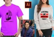Bestselling T-Shirt Design Masterclass with Illustrator 2021