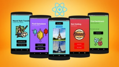 [FREE] Deep Learning with React-Native & Python – Build 7 AI Apps