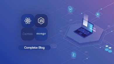 MERN Stack with Blog Project