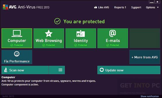 AVG antivirus 2013 Direct Link Download
