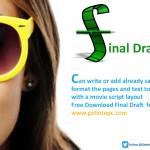 Final Draft Free Download