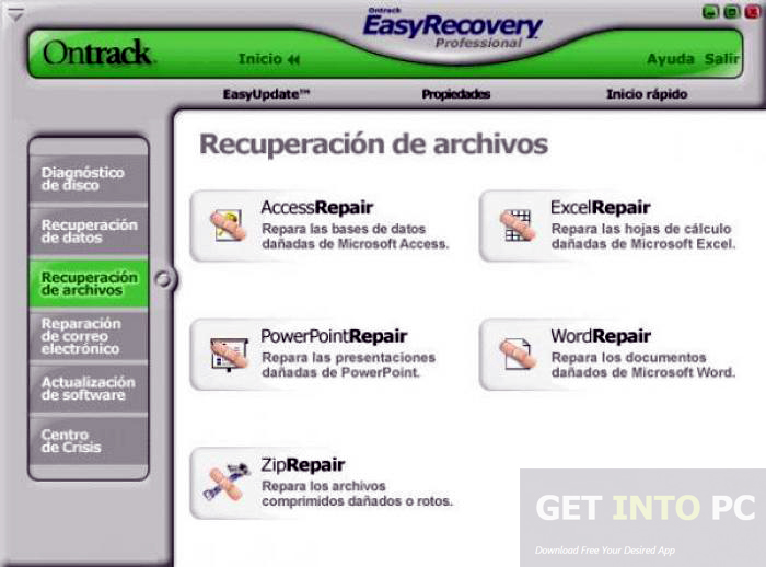 Easy Recovery Essentials Pro Windows 7 Free Download