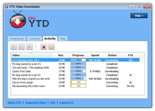 YTD Downloader Pro v5.7.2.0 Free Download