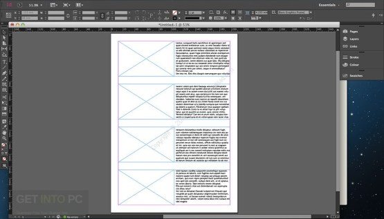 Adobe InDesign CC 2017 DMG for MacOS Latest Version Download