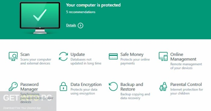 Kaspersky Anti-Virus 2017 Free Download