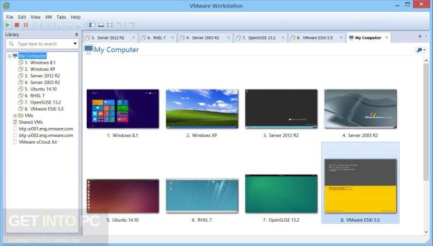 VMware Workstation Pro 12.5.8 Build 709