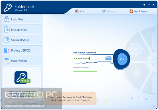 Folder Lock 7.7 Latest Version Download