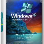 Windows XP SP3 Pro Black Elegant Edition 2017 Download