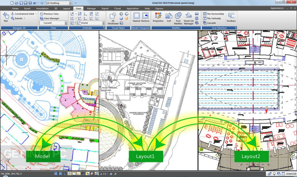 Gstarsoft GstarCAD 2018 Free Download