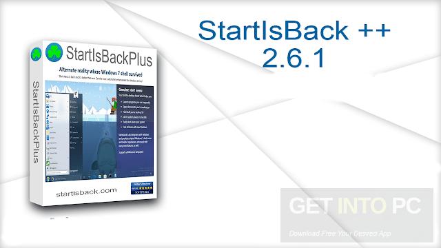 Download StartIsBack ++ 2.6.1 for Windows 10