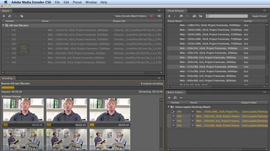 Adobe Media Encoder CC 2018 v12.0.1.64 Direct Link Download