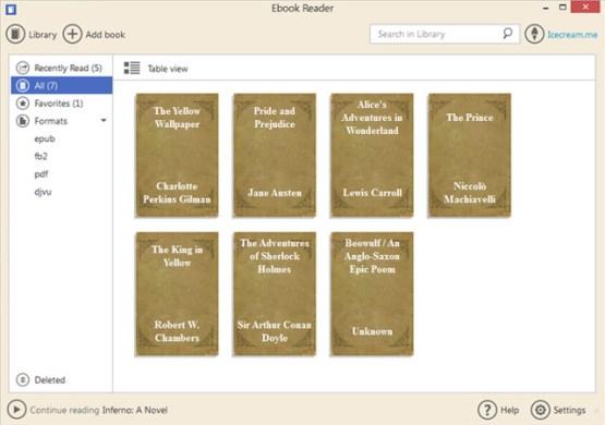 Icecream Ebook Reader Pro 5.12 Latest Version Download