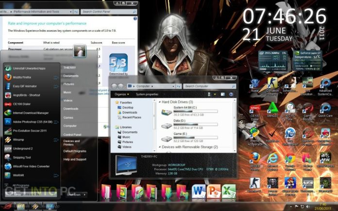 Windows 7 ROG RAMPAGE 64 bit ISO Direct Link Download-GetintoPC.com