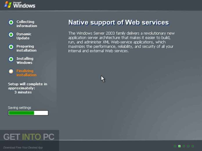 Windows Server 2003 All Editions ISO Direct Link Download-GetintoPC.com