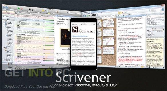 Scrivener 3.2.2 Crack