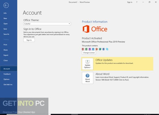 Windows 10 RS5 All in One Jan 2019 + Office 2019 Offline Installer Download-GetintoPC.com