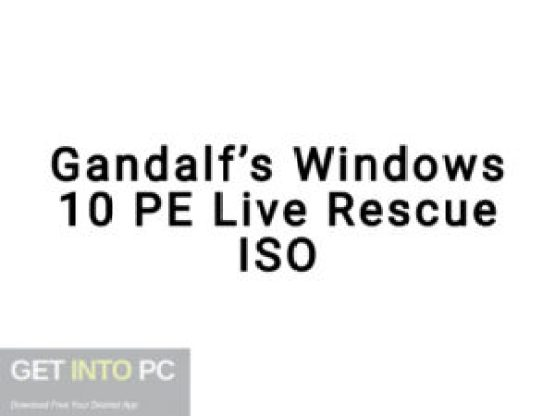 Gandalf's-Windows-10-PE-Live-Rescue-Offline-Installer-Download-GetintoPC.com
