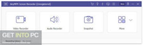 AnyMP4 Screen Recorder Pro 2019 Offline Installer Download