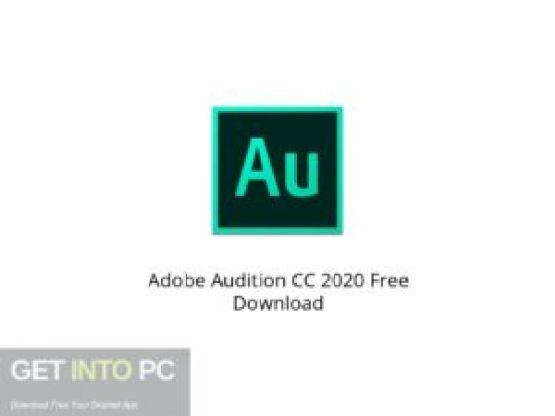 Adobe Audition CC 2020 Latest Version Download-GetintoPC.com