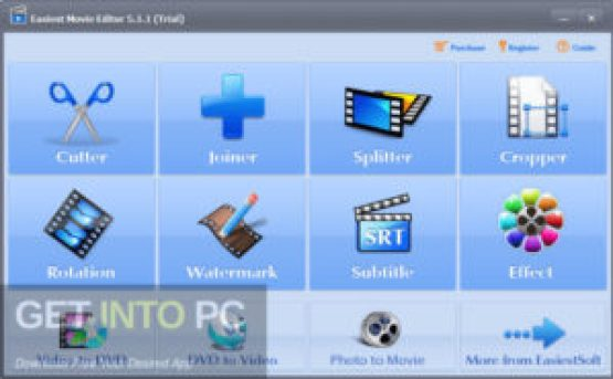 EasiestSoft Movie Editor Direct Link Download GetIntoPC.com