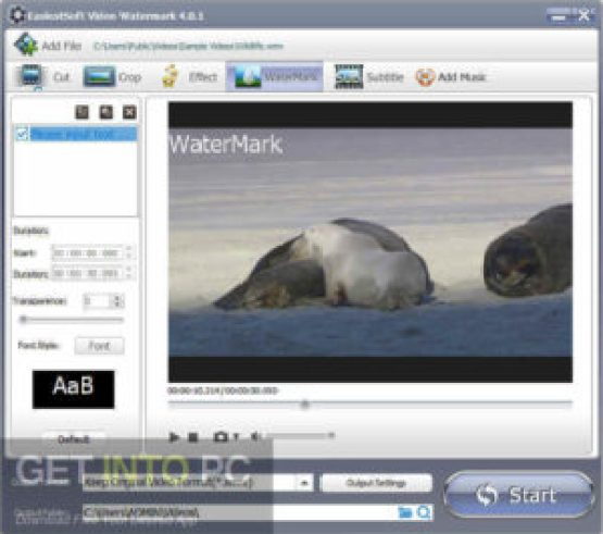 EasiestSoft Movie Editor Offline Installer Download GetIntoPC.com
