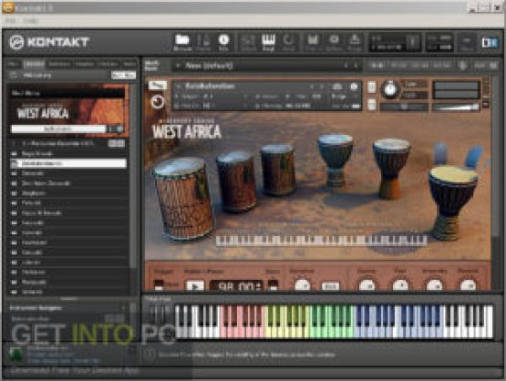 Native Instruments West Africa Library (KONTAKT) Offline Installer Download GetIntoPC.com
