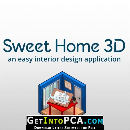 And export the plan to svg format or the 3d view to obj format to import them in other 2d or 3d software. Sweet Home 3d 6 Free Download