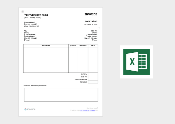 Download templates trucking expenses spreadsheet trucker expense. Download Free Invoice Templates For Word Excel Canva