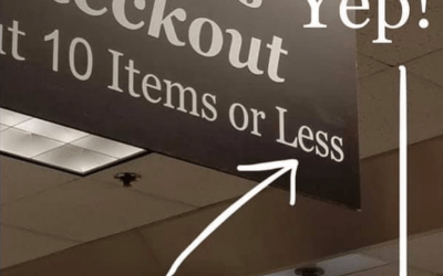 """""""Less"""" or """"Fewer"""""""