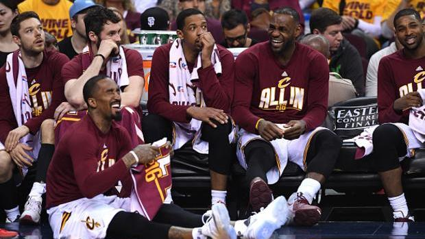 """Channing Frye Says Thing He'll Remember Most About LeBron Is His """"Smelly Breath"""""""