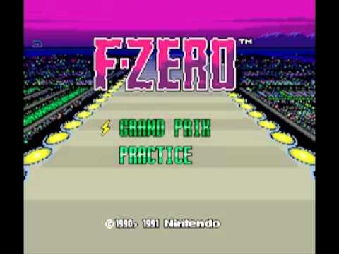 Samples: F-Zero (SNES) Music – Select Time Theme
