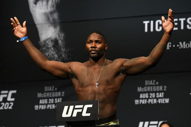 """Anthony """"Rumble"""" Johnson Pleads Not Guilty In Domestic Violence Case"""