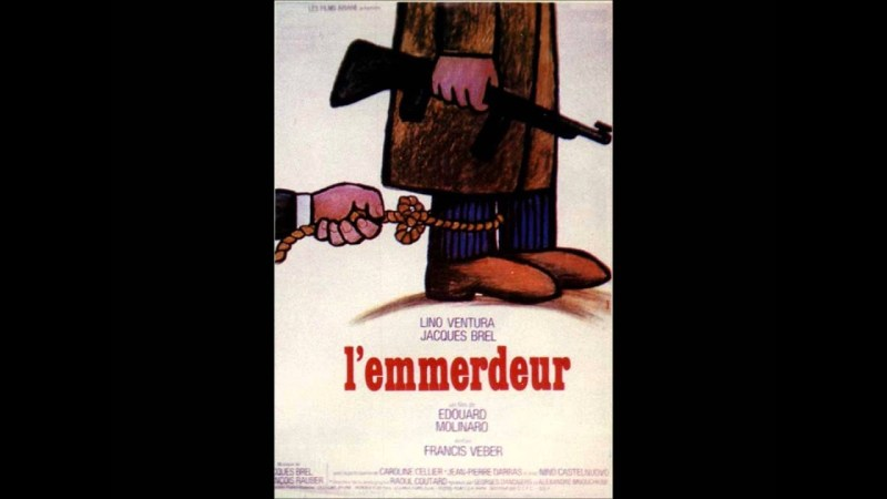 Samples: l'emmerdeur (  jacques brel & francois rauber )1973
