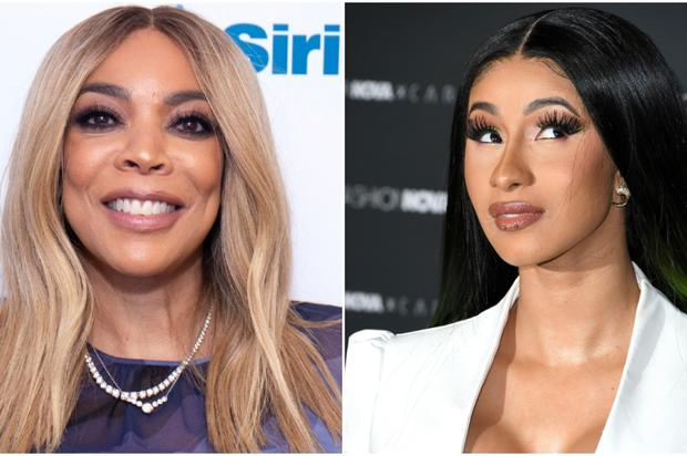 """Wendy Williams Gives Cardi B """"Points"""" For Being Honest About Liposuction & Plastic Surgery"""