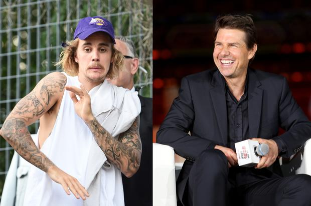 "Justin Bieber Back Tracks On Tom Cruise Fight: ""He Has Dad Strength"""